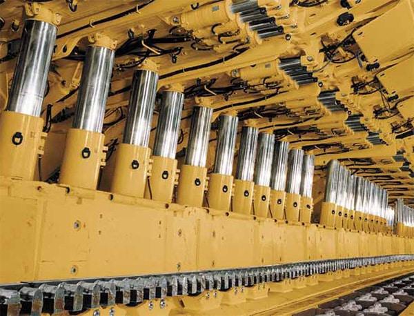 skive burnishing hydraulic support