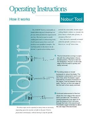 Mode d'emploi Nobur CTP